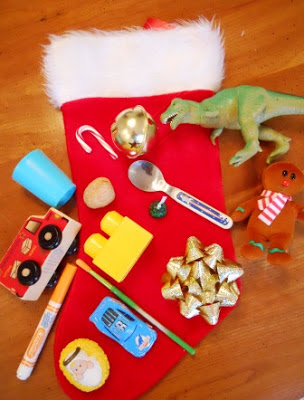 Hearsaylw what 39 s in the christmas stocking for Stocking crafts for toddlers