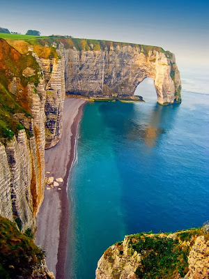 Natural Arches Sea Cliff France