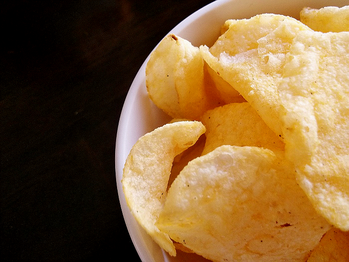 Cheesy Garlic Bread Lay's Chips #MC #Sponsored