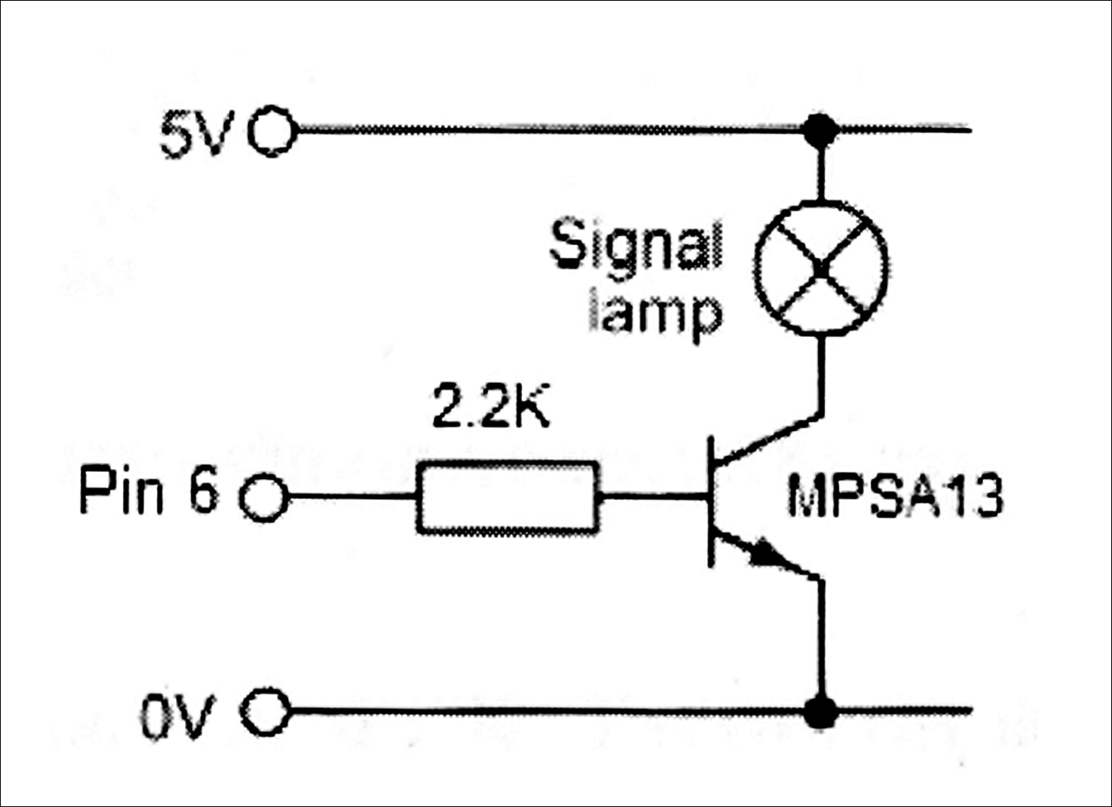 Electronics Cchoy 06 All About Motors Interface Micro To Transistors Circuit Darlington Transistor Reproduce The Original Except With Mpsa13