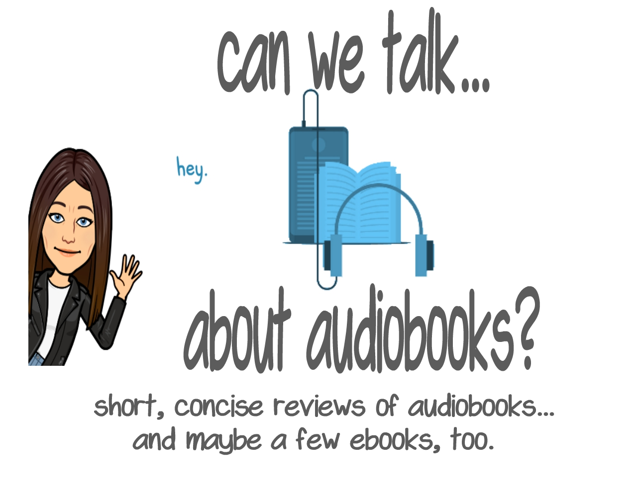 Can we talk...about auidobooks?