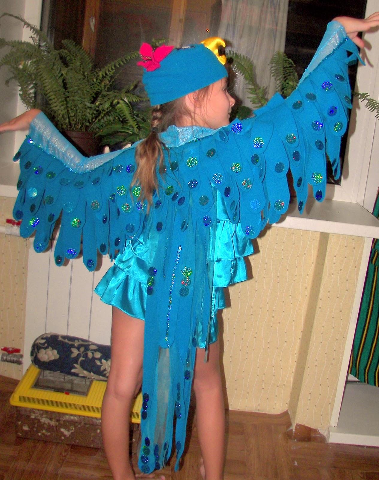 Костюм попугая своими руками фото