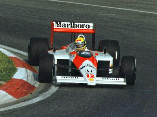 1988 Carro Ayrton Senna Fórmula 1 Mclaren