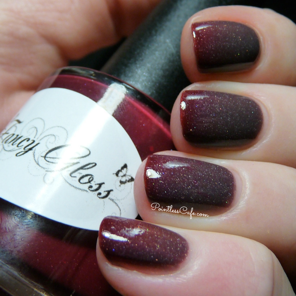 Fancy Gloss Lacquer: Feeling Vampy - Swatches and Review | Pointless ...