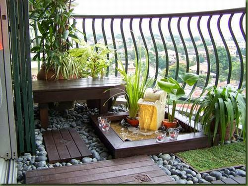 small trees in the terrace | Vietnam Outdoor Furniture