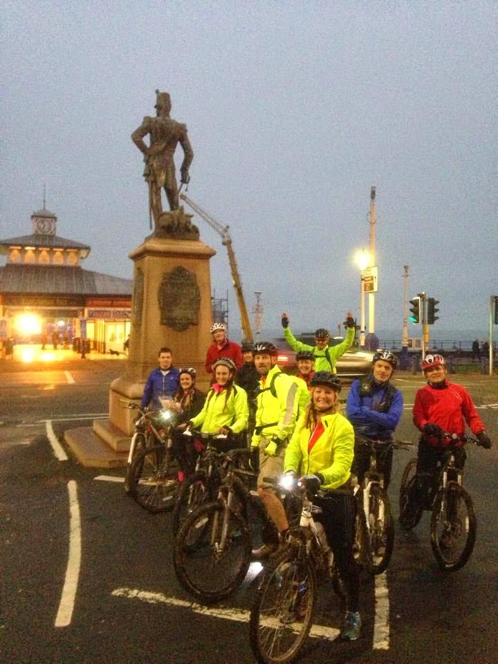 BTRS Mountain Bike - Brighton to Eastbourne - South Downs Way