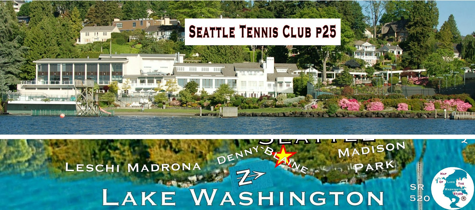 The Seattle Tennis Club Is Just South Of Madison Park In Denny Blaine Was Founded A Few Blocks North Its Present Site As