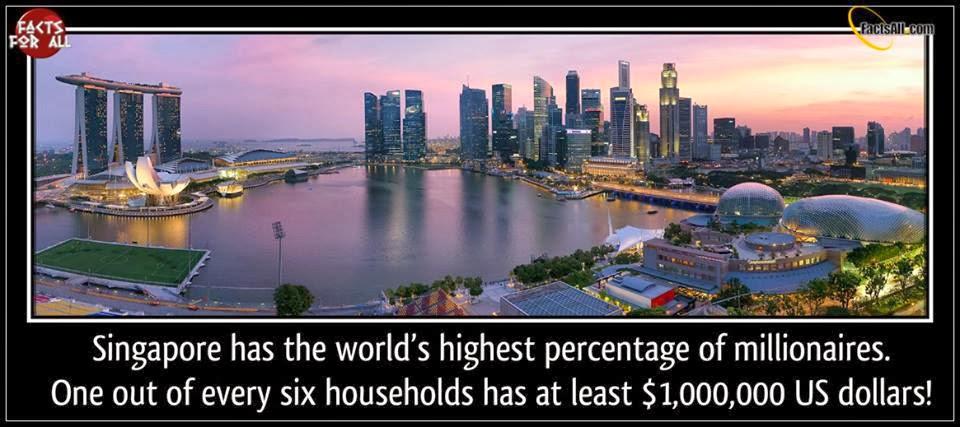 millionairies, singapore