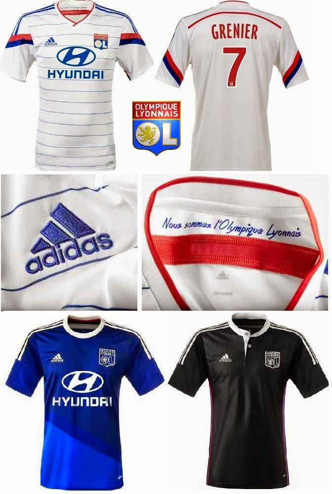 Jersey klub eropa musim 2014/2015