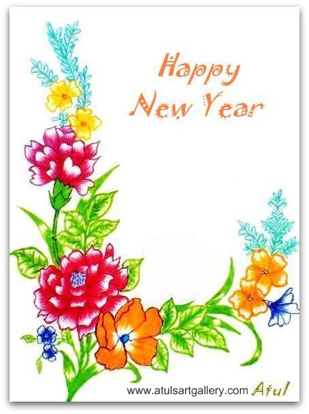 new year greeting card wallpapers 521 entertainment world