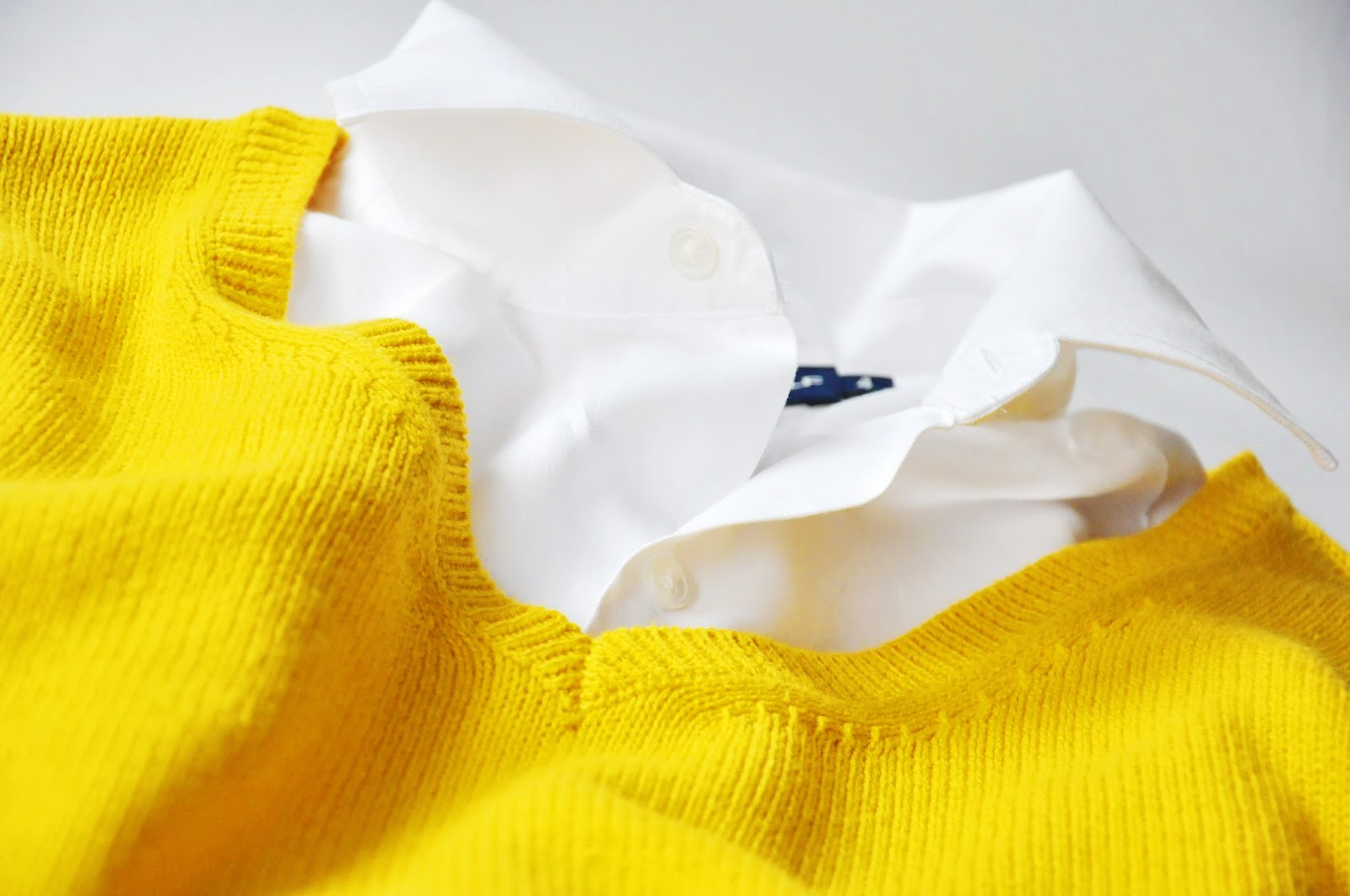 Dijon Yellow v-neck