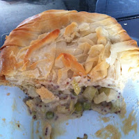 Sainsbury's Chicken and Leek Pie Review