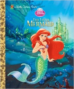 The Little Mermaid Special Edition Golden Book by Michael Teitelbaum