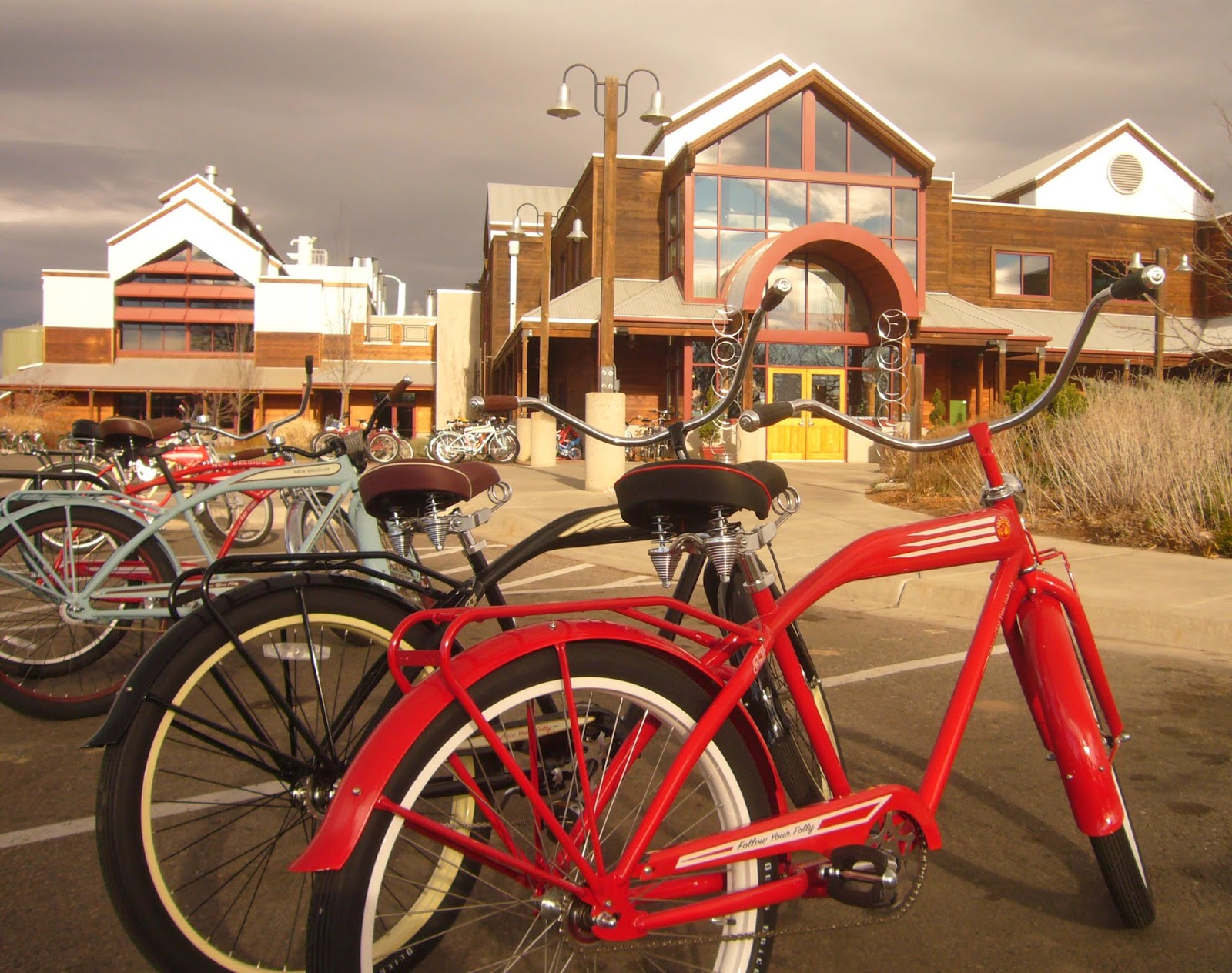 At New Belgium Brewing, everything is designed around environmental protection and sustainability