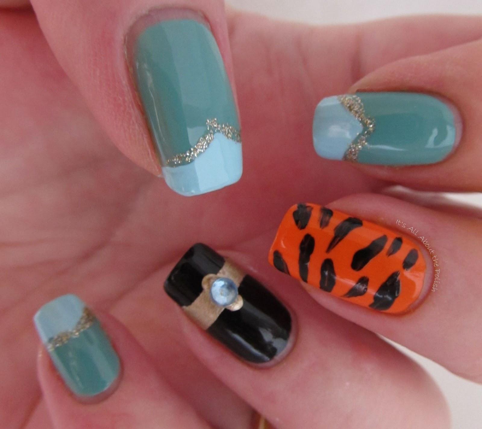 It\'s all about the polish: Disney Princess Jasmine Nails