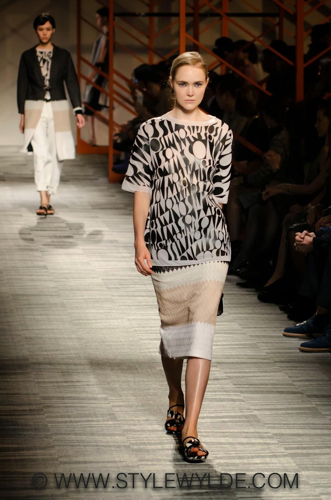 Fashion Design Tokyo Fashion Week For Spring Summer 2014 By Angela Missoni