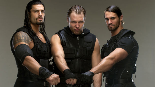Reigns Ambrose Rollins Shield Jon Moxley WWE Greatest Factions 6 Man Tag Match Believe