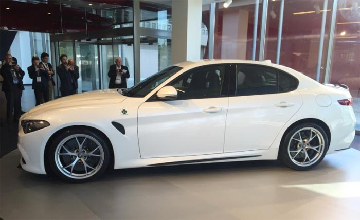U S Of The Quadrifoglio Will Begin In Third Quarter With 2 0 Liter Version Arriving Showrooms By Year End Alfa Has Said