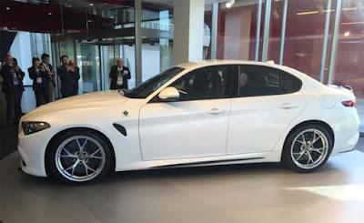 2016 Alfa Romeo Giulia Release Date