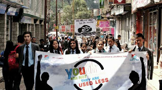 International Youth Day by Darjeeling St. Joseph's College celebrated