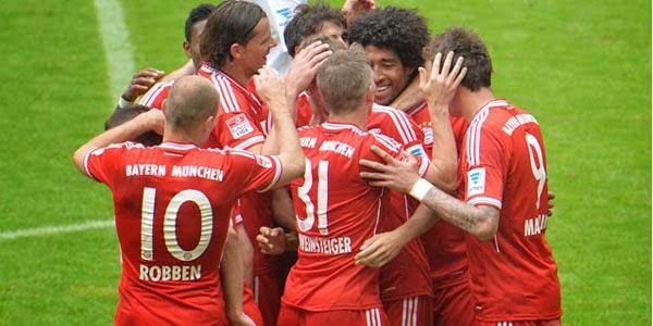 MSV Duisburg vs Bayern Munchen