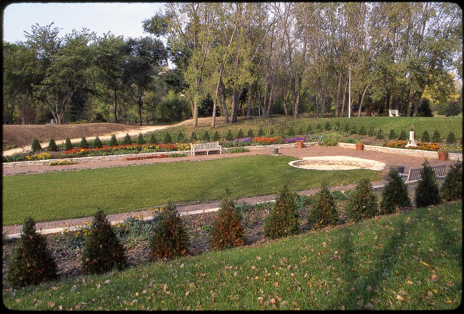 Rotary Botanical Gardens - Hort Blog: The Sunken Garden Transformation