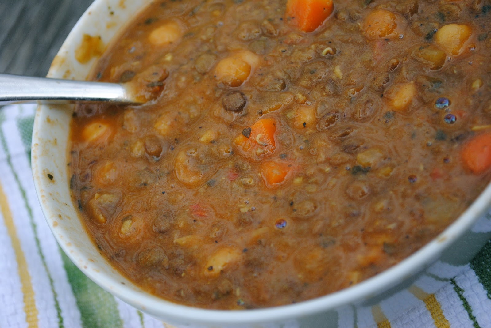 Moroccan Lentil Soup Recipe — Dishmaps