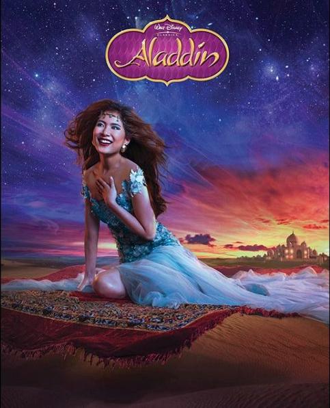 12 Days of Princess - Jasmine in Disney's Alladin