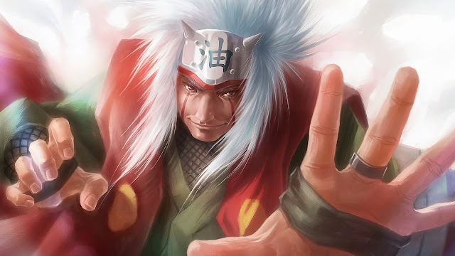Fondo de Pantalla Jiraiya Naruto Shippuden