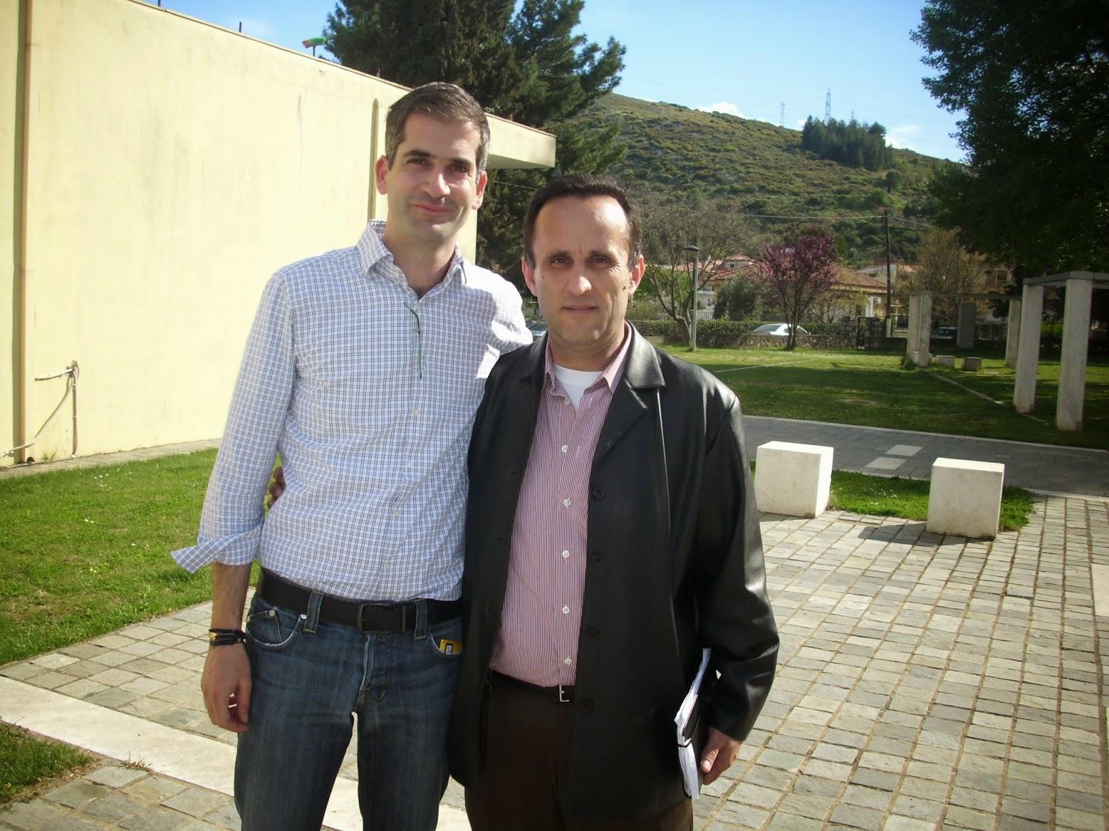 Με τον Περιφεριαρχη  στερρεας  Κ.Μπακογιαννη