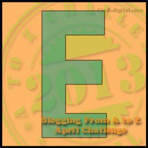 A to Z Challenge E