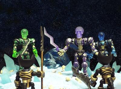 Argonaut Resins x Onell Designs Kings of Atlantis Glyos Figures