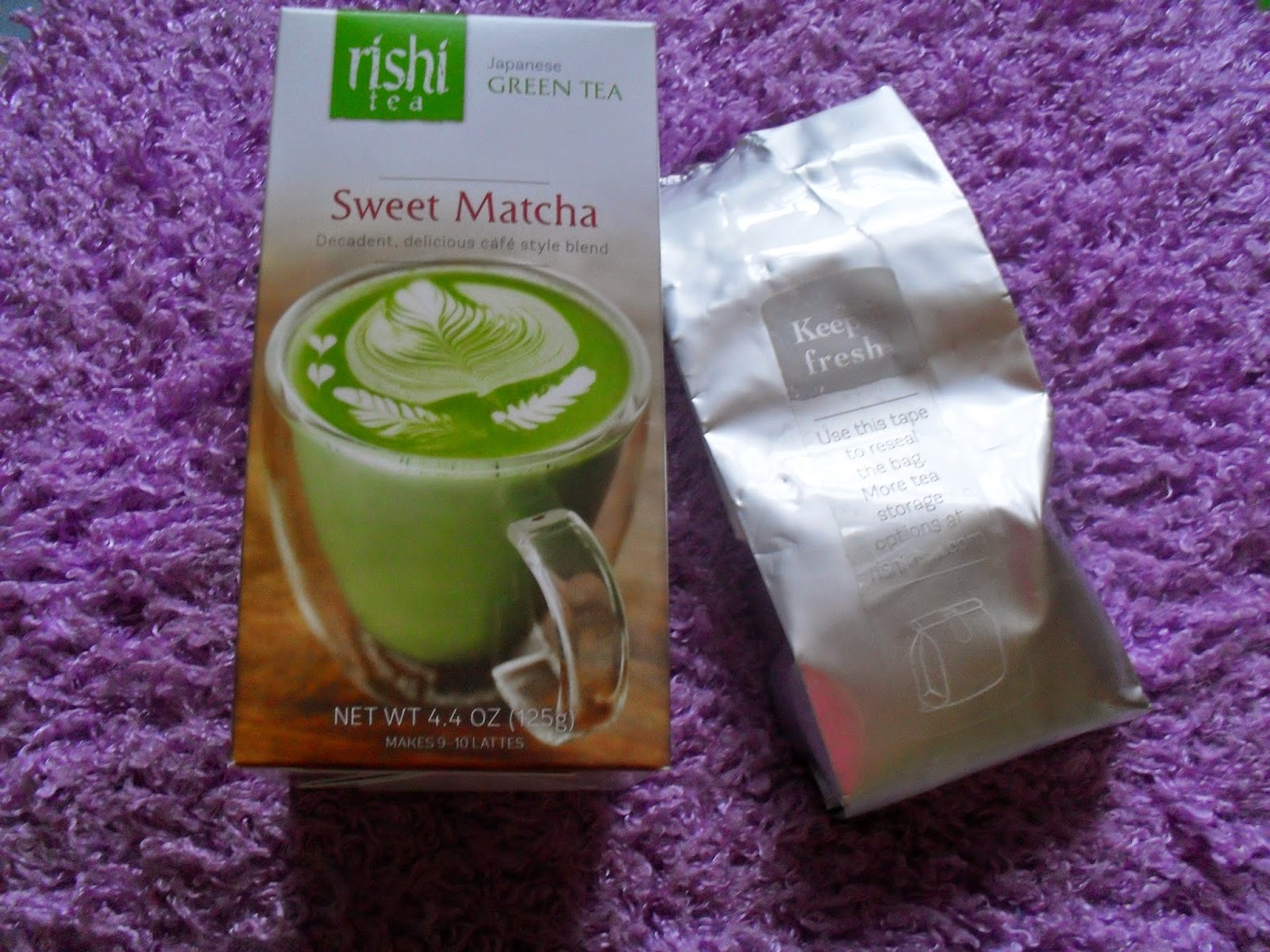 Rishi Tea, Japanese Green Tea, Sweet Matcha