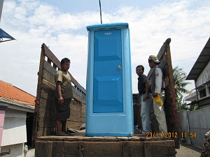 Portable Toilet Delivery