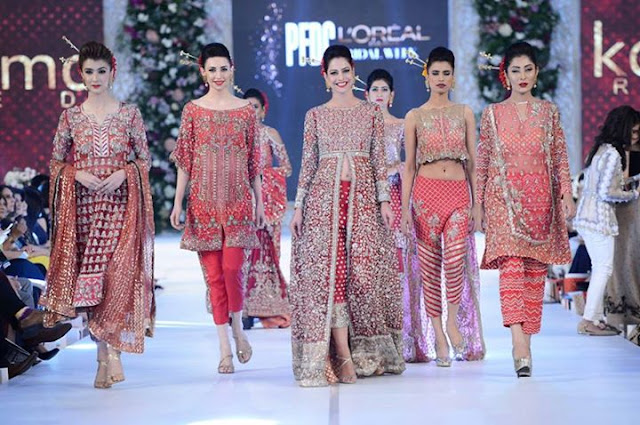Glimpse of PFDC Loreal Bridal Week 2015