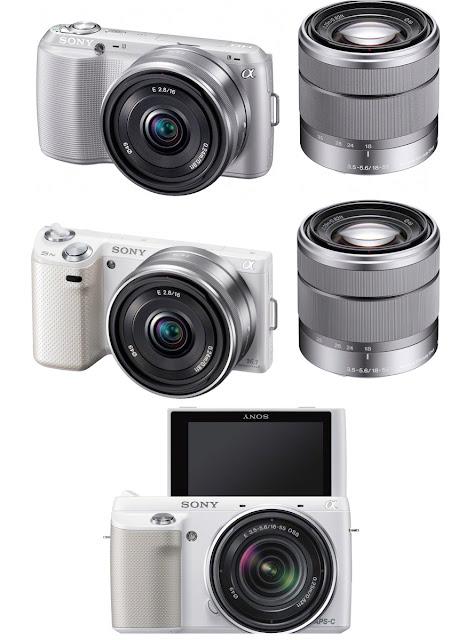 Sony Nex-C3, Sony Nex-5N, Sony Nex-F3