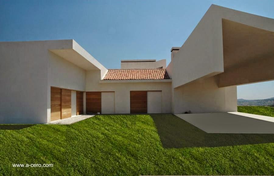 Sector de la residencia principal con patio y césped