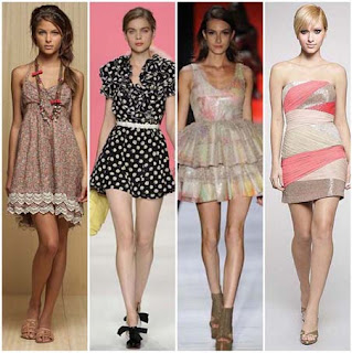 modelos de vestidos retro