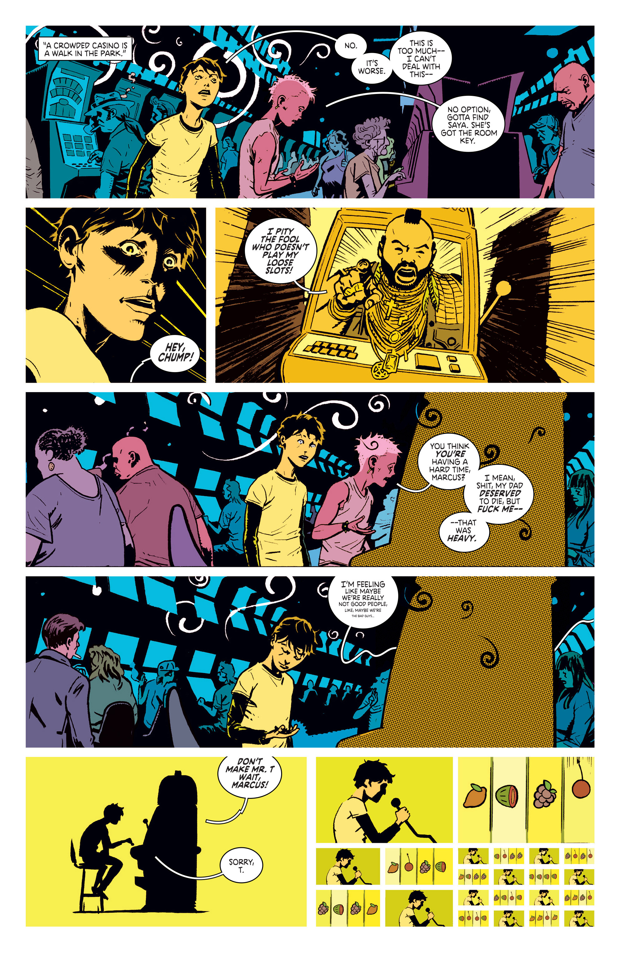 Read online Deadly Class comic -  Issue #5 - 11