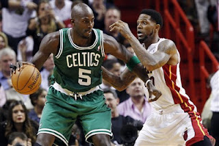 LeBron James, Rajon Rondo, Boston Celtics, Miami Heat, Ray Allen, Kevin Garnett, DWade