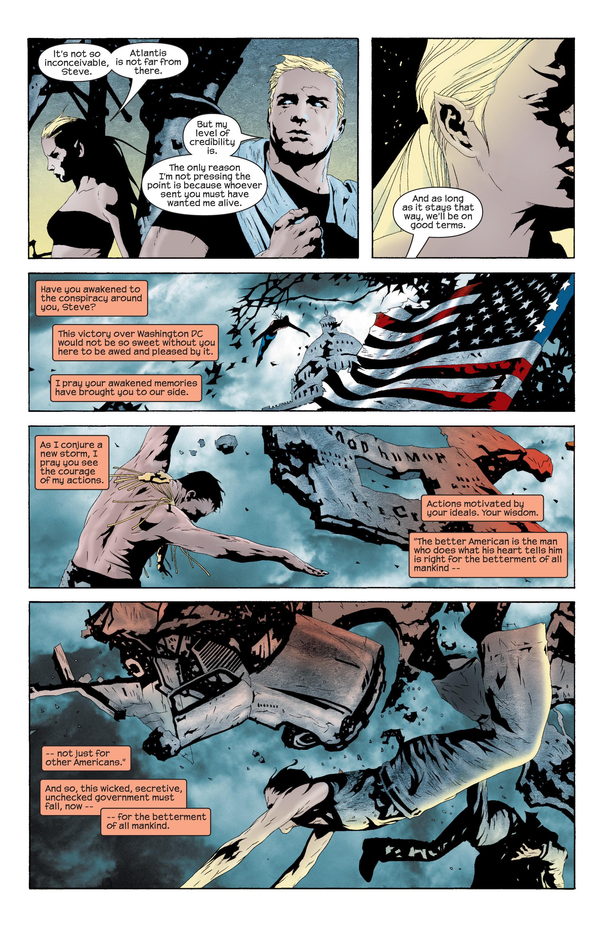 Captain America (2002) Issue #11 #12 - English 9