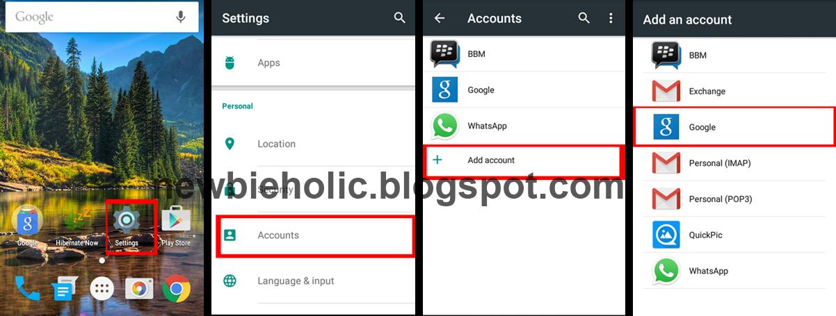 Tutorial Cara Mudah Membuat Email Gmail Baru Di Android