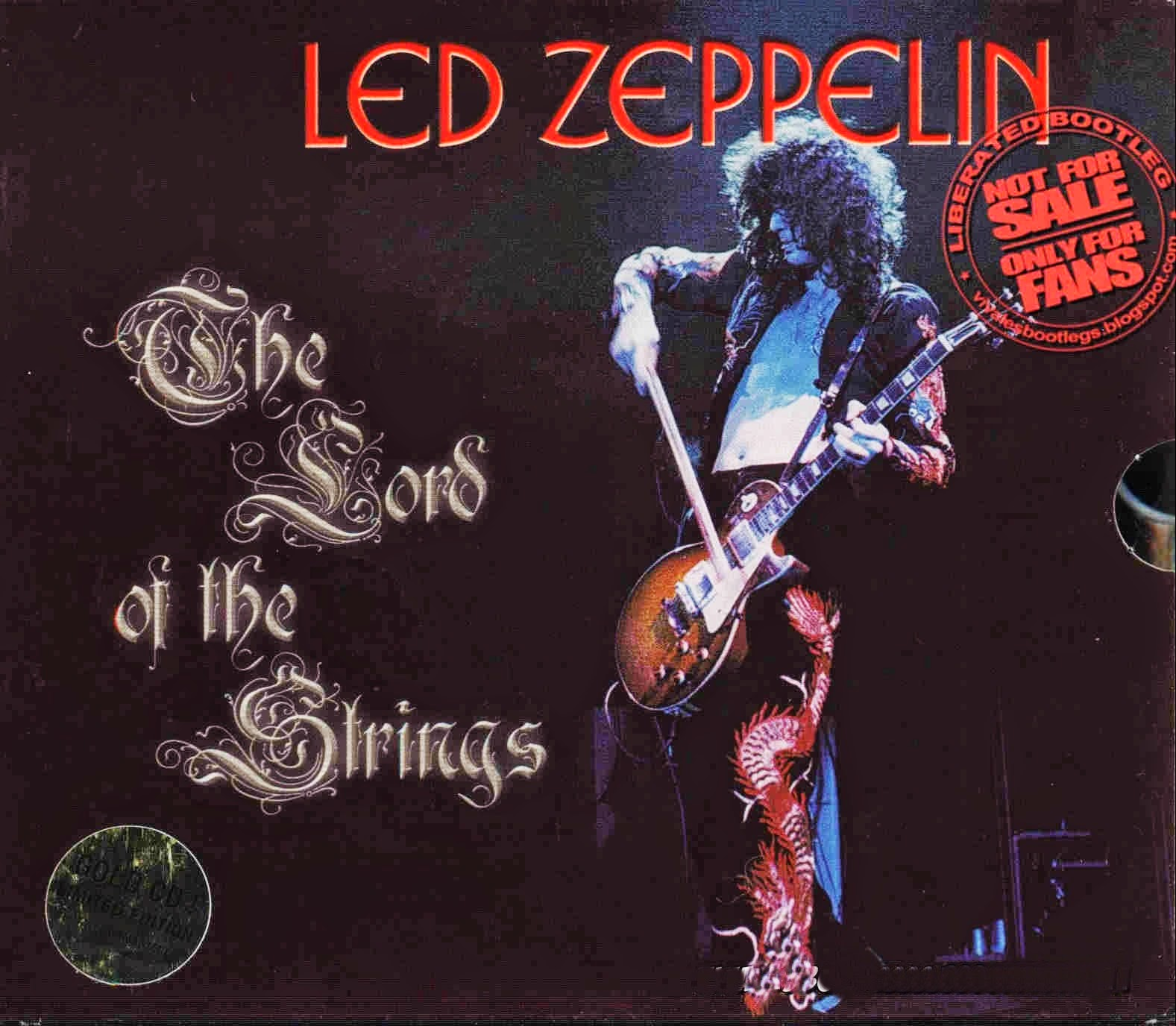 Led Zeppelin: The Lord Of The Strings. (Original Master Series Label 6cd Box Set Oms 175-180) bootleg