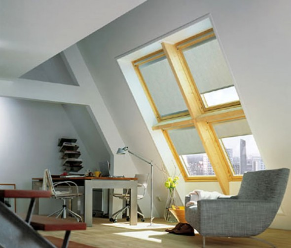 Blinds & Shutters: Skylight – An Easy Treatment For Skylights Are