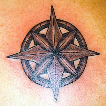 tribal star tattoo for men. Rocking Tattoos