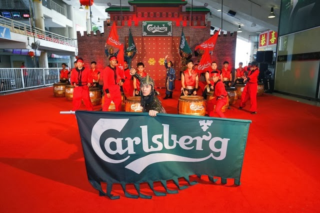 Carlsberg welcoming the year of the Horse