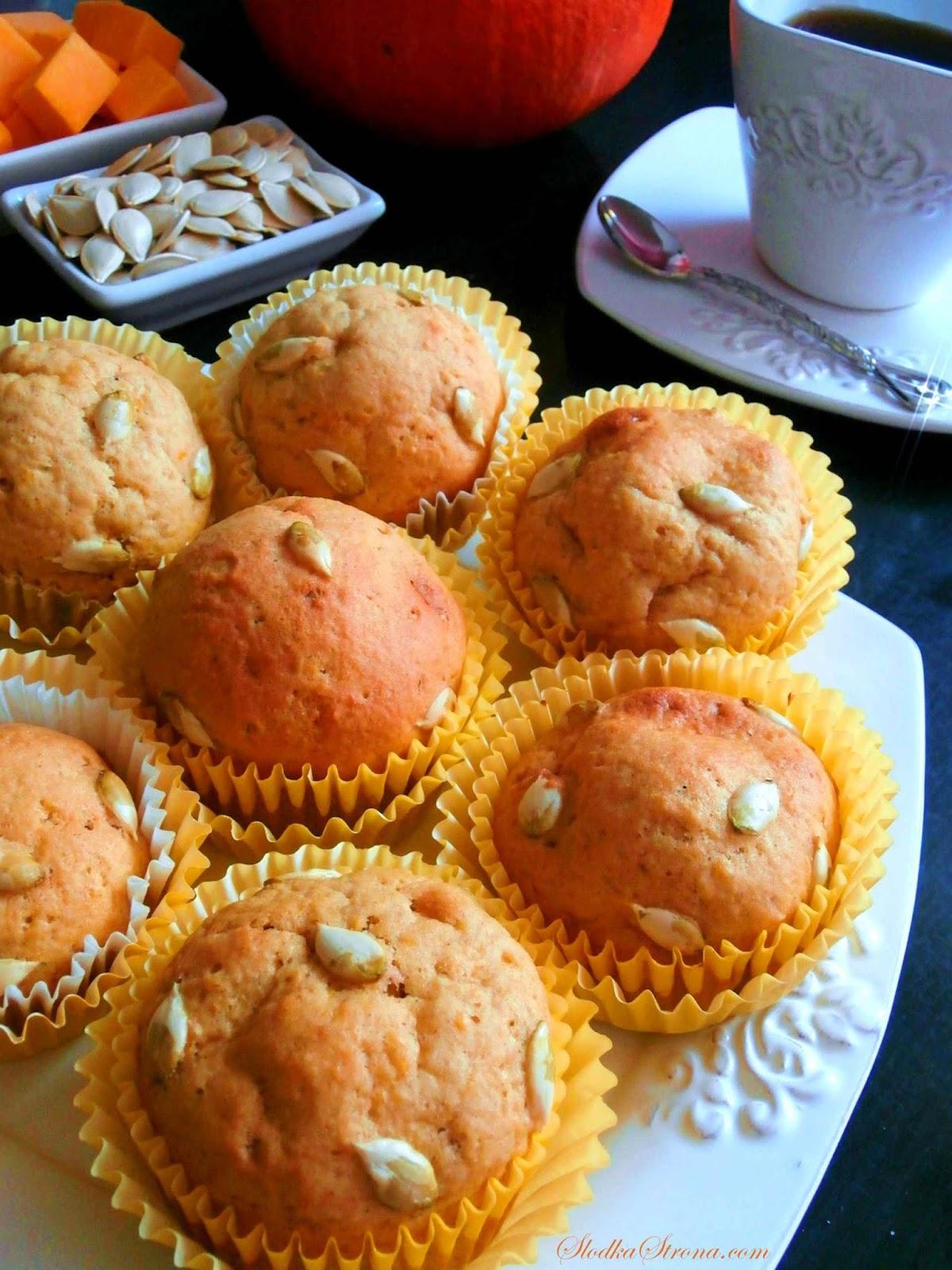 muffiny dyniowe przepis