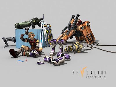 Membuat Senjata Leon Dan Upgrade Elemental RF Online