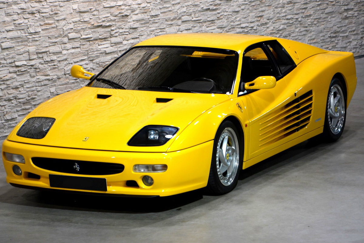 Two Special And Very Yellow Ferrari Testarossas Are ...