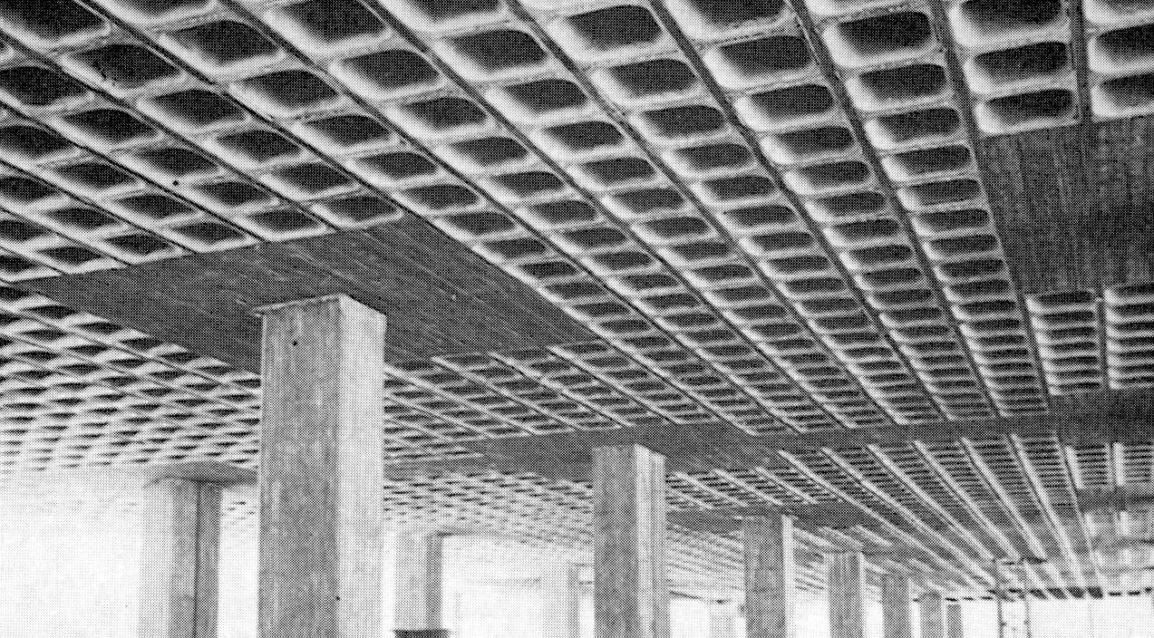 Concreto losa reticular for Losas para garajes
